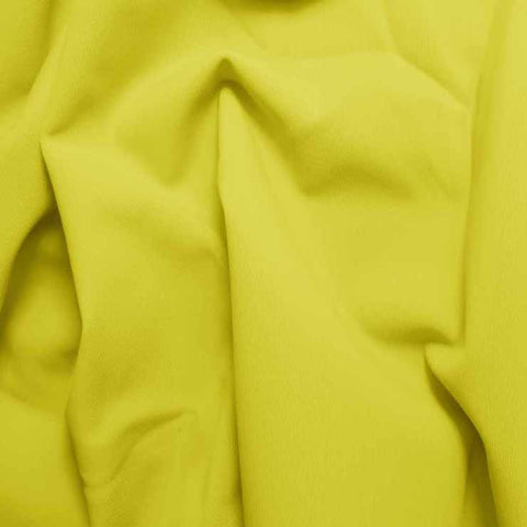 Solid Matte Spandex Yellow
