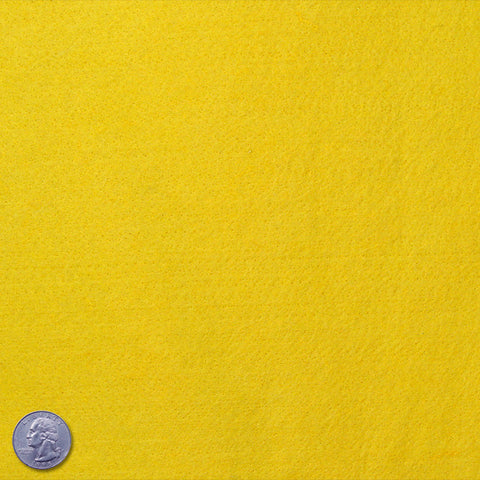 Felt Yellow - NY Fashion Center Fabrics