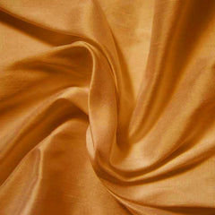 Silk Shantung antique gold