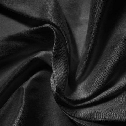 Silk Shantung black