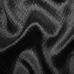 Silk Heavyweight Hammered Satin bs 4117 Charcoal