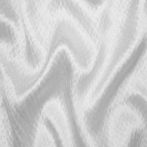 Silk Heavyweight Hammered Satin bs 4117 White