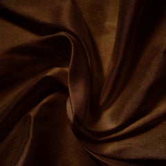 Silk Shantung chocolate