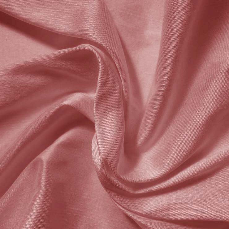 Silk Shantung dusty rose