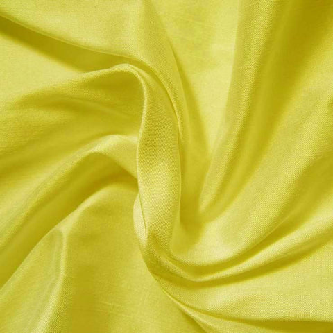 Silk Shantung lemon