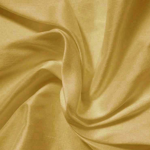 Silk Shantung light gold