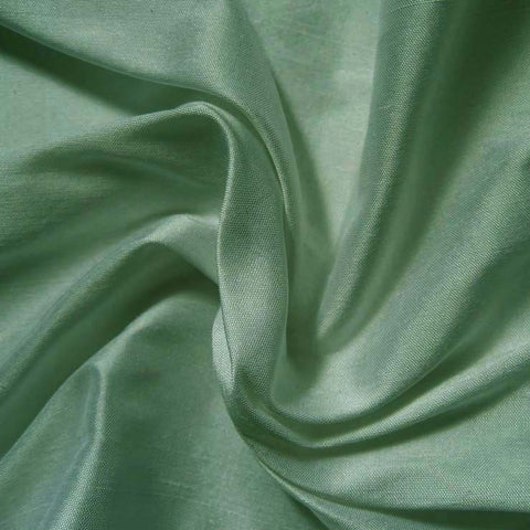 Silk Shantung maple green