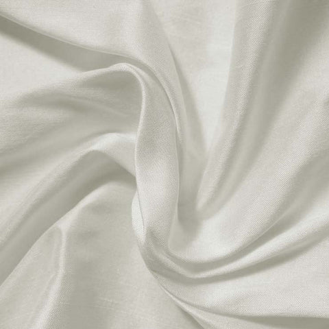 Silk Shantung off white