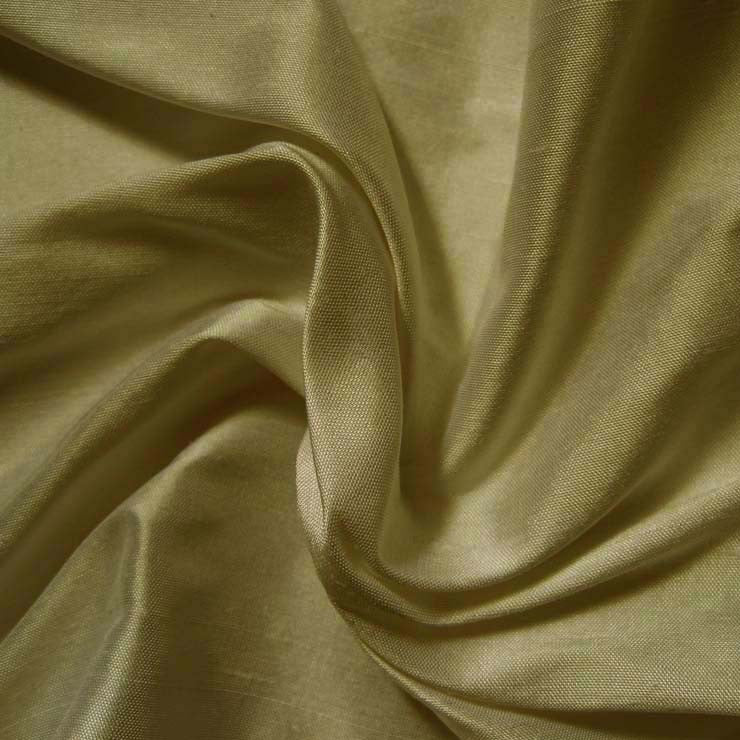 Silk Shantung old gold