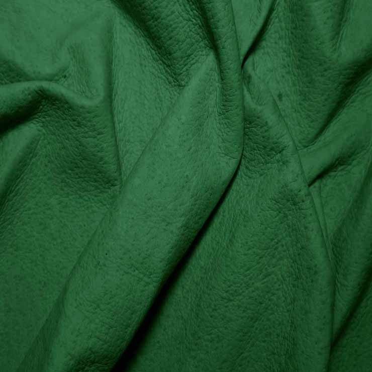 Suede Leather p328 EmeraldGreen