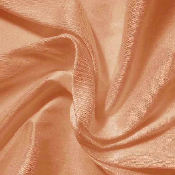Silk Shantung peach