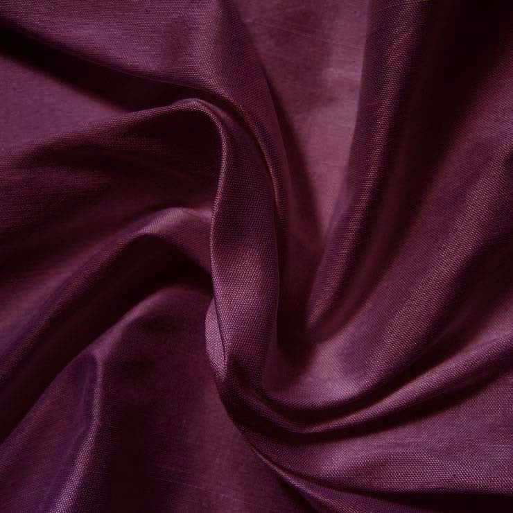 Silk Shantung ruby