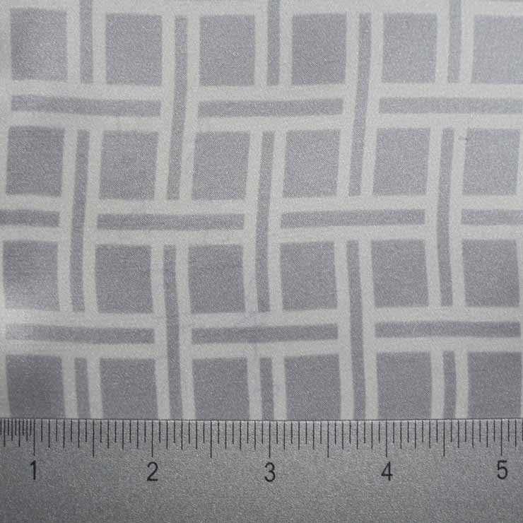 Silk Charmeuse Square Geo Print style P2000 pattern10396