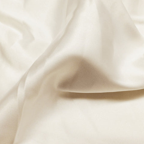 Charmeuse Satin Fabric 4  Ivory