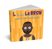 Load image into Gallery viewer, L is for Lebron - ABCs for the Future Ballers
