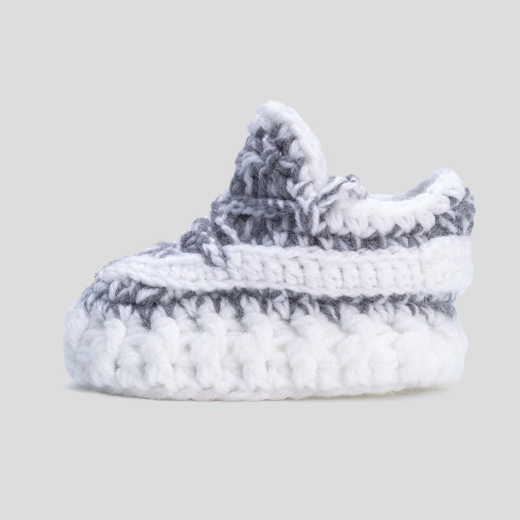 Static Reflect Crochet Baby Shoes