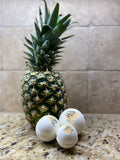 'Signature' Limited Edition Pineapple Gardenia Sage bath bomb - 240 MG