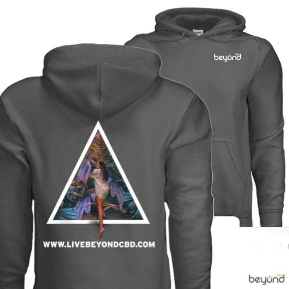 BEYOND 'Limited Edition' Hoodie- Charcoal Grey