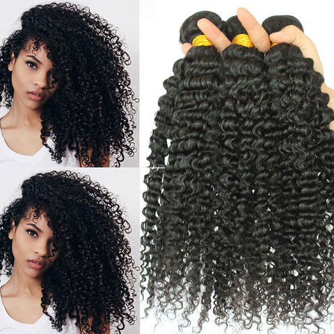 Soul Lady Brazilian Hair 3 Bundles 100% Human Hair Kinky Curly