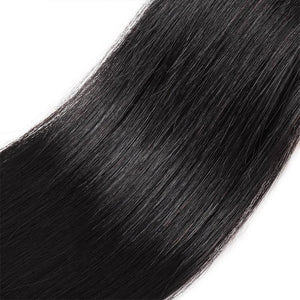 Queena Peruvian Straight  Virgin Hair 4 Bundles Human Hair Weave