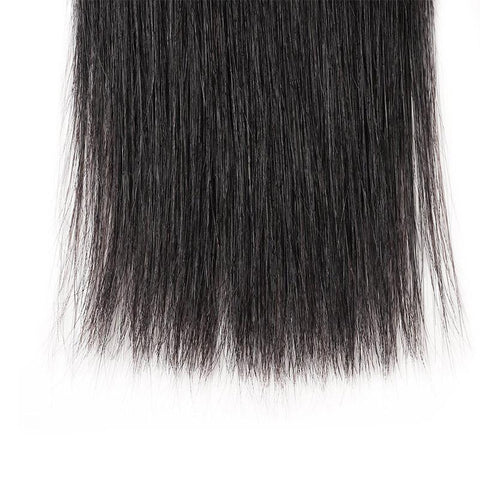 Image of Queena Indian Straight Virgin Hair 3 Bundles Human Hair Weave
