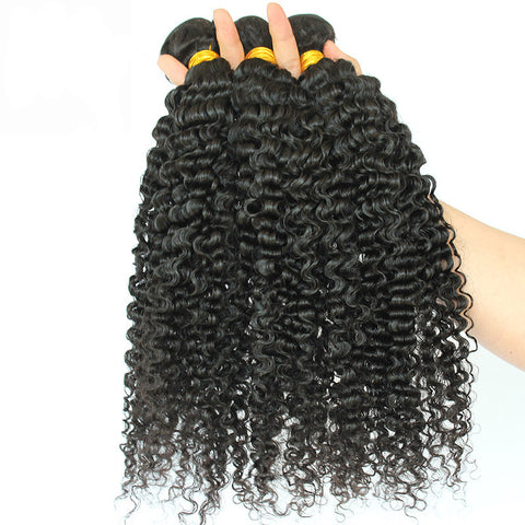 Image of Soul Lady Brazilian Hair 3 Bundles 100% Human Hair Kinky Curly