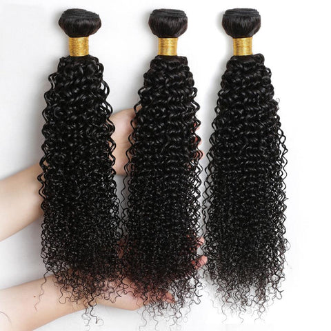 Queena Vietnam Jerry Curly Virgin Hair 3 Bundles Human Hair Weave