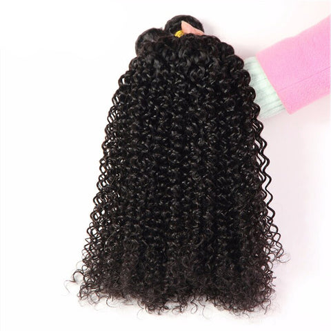 Soul Lady Brazilian Kinky Curly Virgin Hair 4 Bundles Human Hair Weave