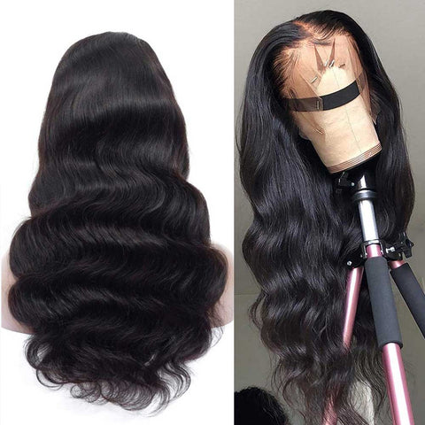Soul Lady Full Lace Human Hair Wigs Brazilian 100% Human Hair Body Wave