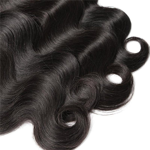 Image of Queena Hair Body Wave Peruvian Virgin Hair Wave 3 Bundles