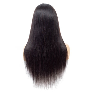 150% Density Lace Front Human Hair Wigs Straight
