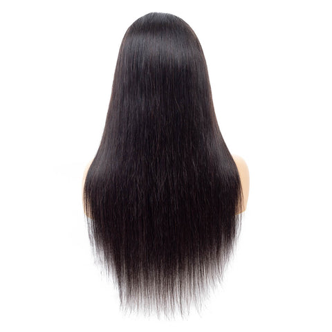 Soul Lady Malaysian 150% Density Lace Frontal Straight Human Hair Wigs