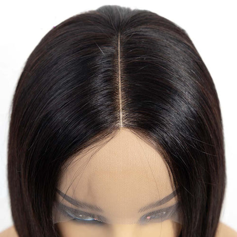 Image of 13x4 150% Density Brazilian Human Hair Bob Lace Wigs on Sale - soulladyhair