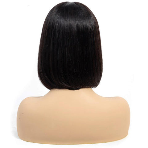 13x4 150% Density Brazilian Human Hair Bob Lace Wigs on Sale - soulladyhair