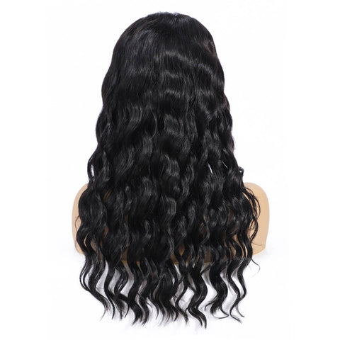 Soul Lady Peruvian 150% Density Loose Wave Lace Frontal Human Hair Wigs