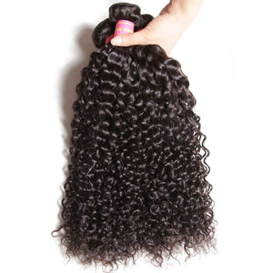 Queena Vietnam Deep Curly Virgin Hair 4 Bundles Human Hair Weave