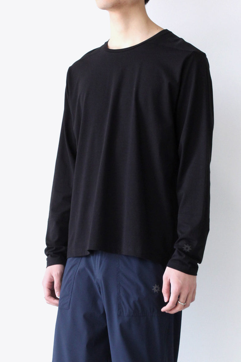 THE PERFECT CREW L/S / BLACK [30%OFF]
