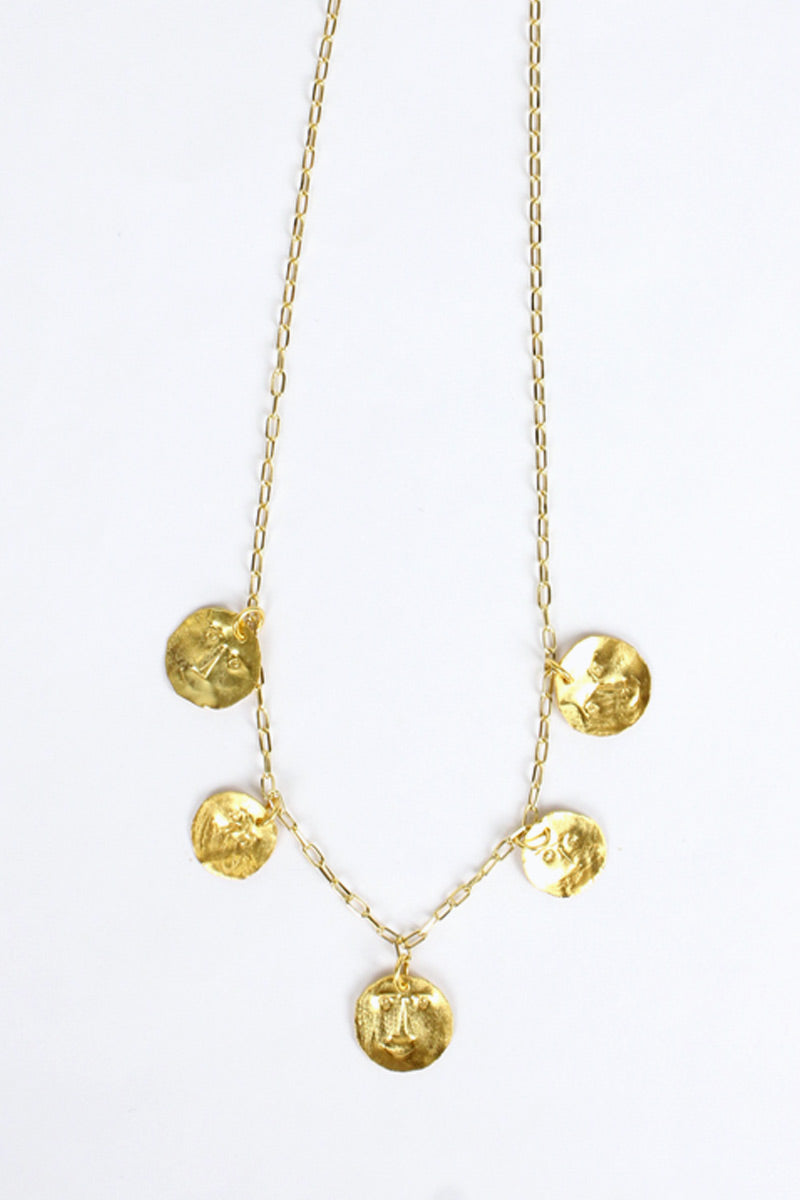 DANCE GOLD PALTED COLLAR / GOLD