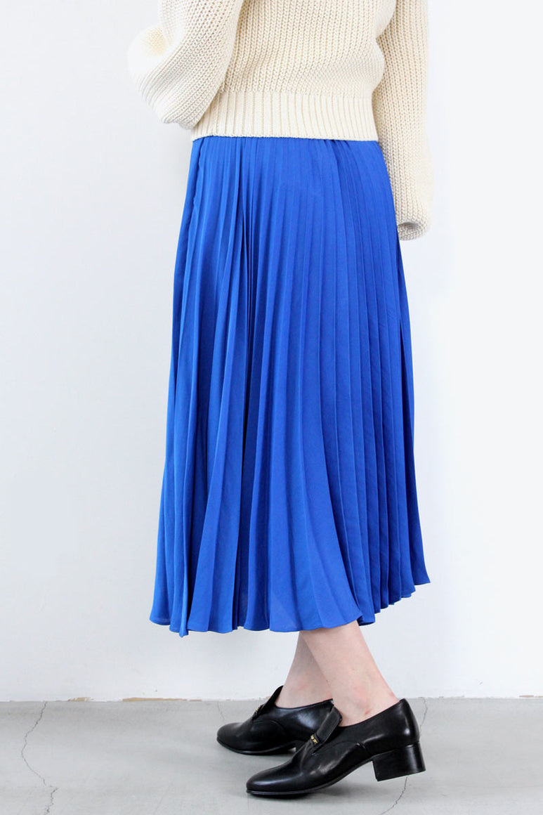 ASTER SKIRT / ANTIQUE BLUE [30%OFF]