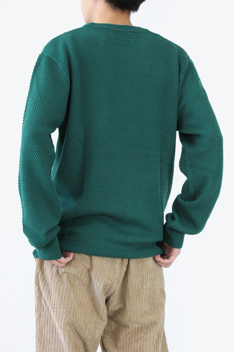 ELEMENTAIRE SWEATER / GREEN [30%OFF]