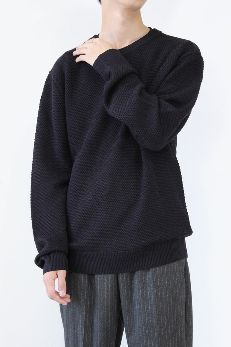 ELEMENTAIRE SWEATER / NAVY [30%OFF]