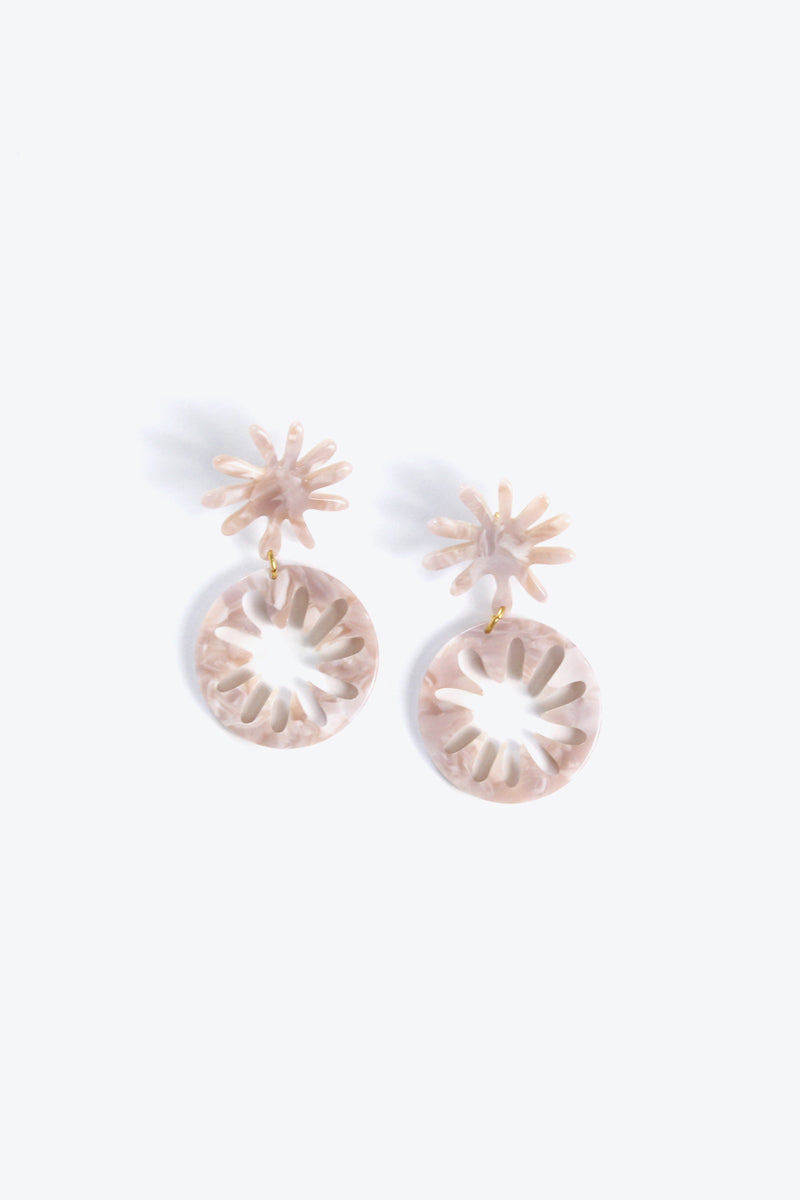 MARINA EARRINGS / PINK