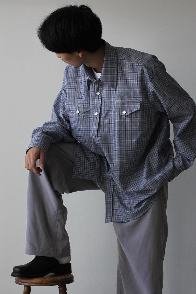 RANCH SHIRT / BLUE CHECK
