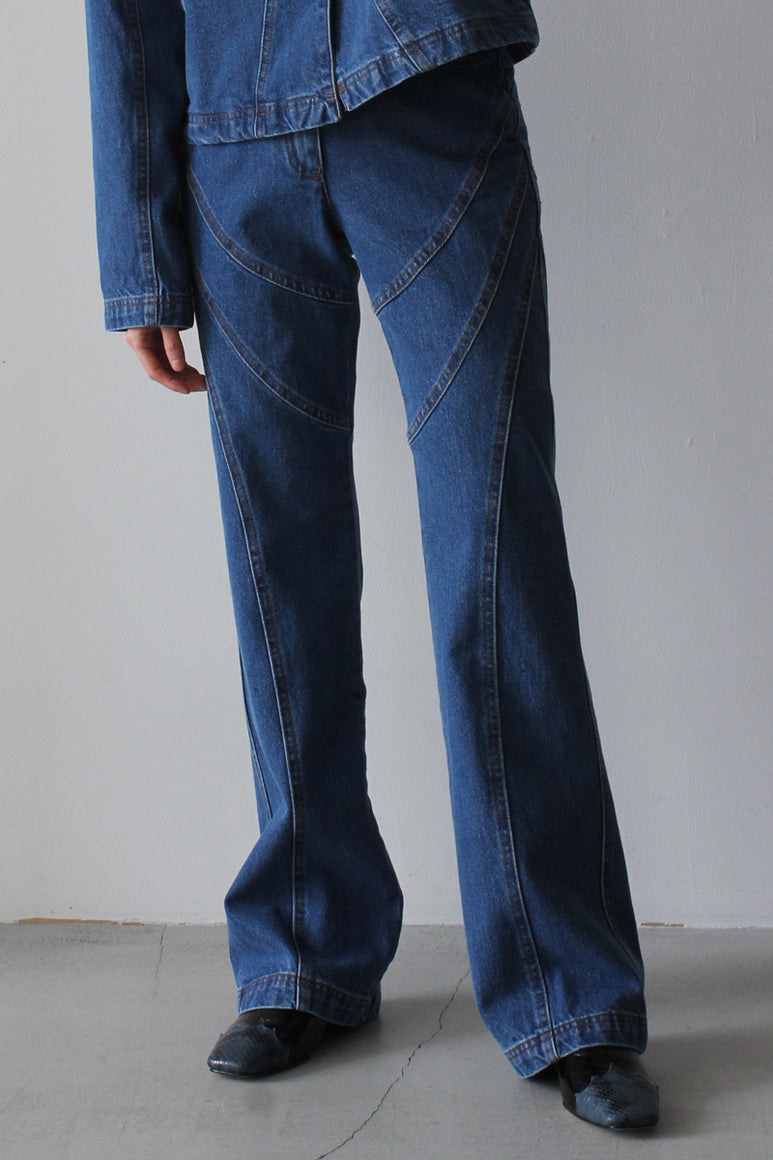 LAVIGNE FLARE PANTS / DENIM