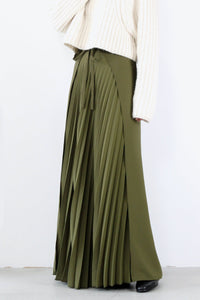 WRAPPING TULIA PANT / OLIVE [30%OFF]
