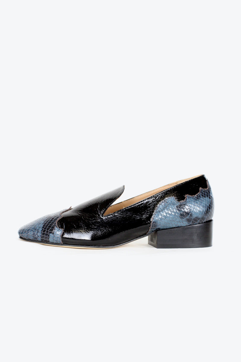 LUKE LEATHER LOAFER / BLACK