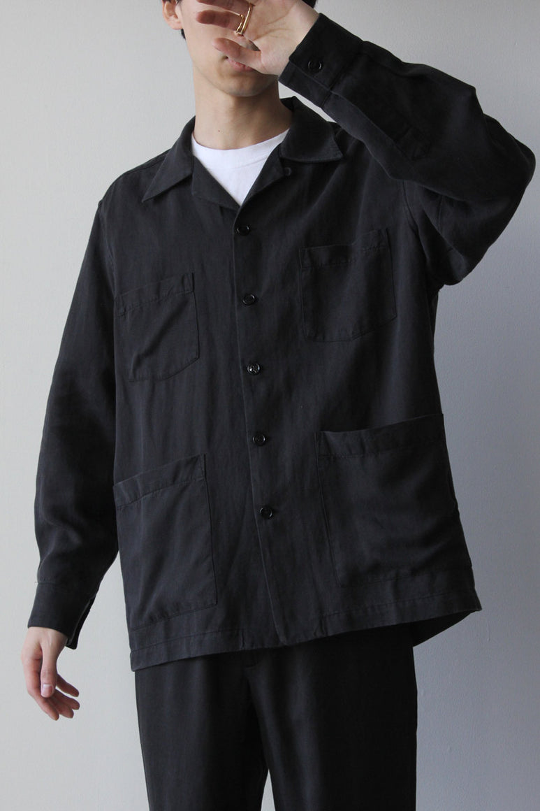 OVERSHIRT BOXY / BLACK