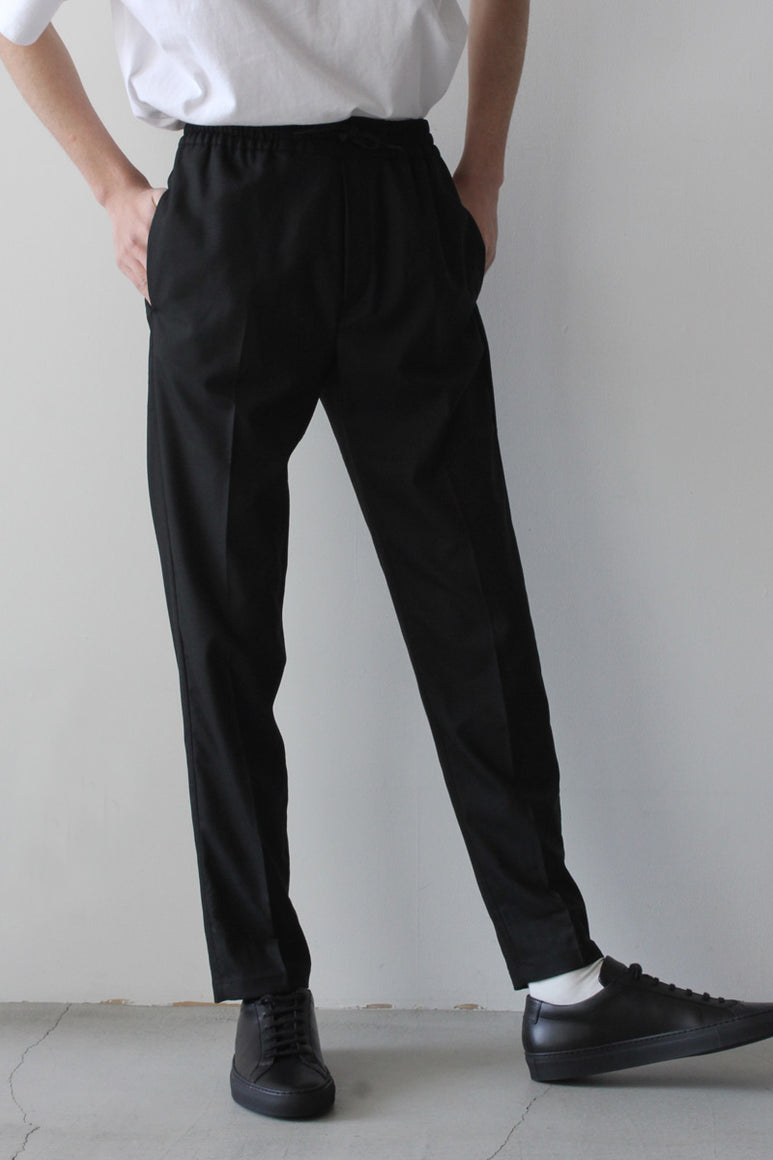 CALVIN RELAX TROUSERS / BLACK