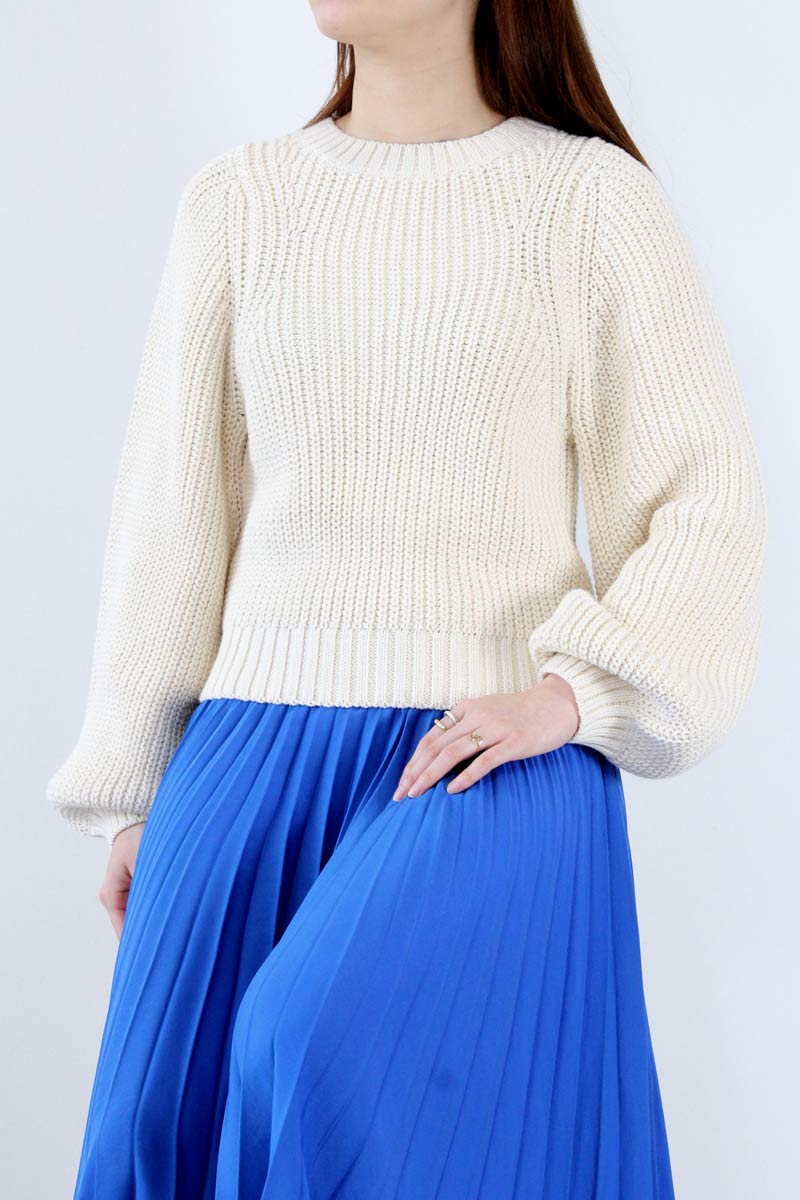 CLEMENTSWEATER / NATURAL [30%OFF]
