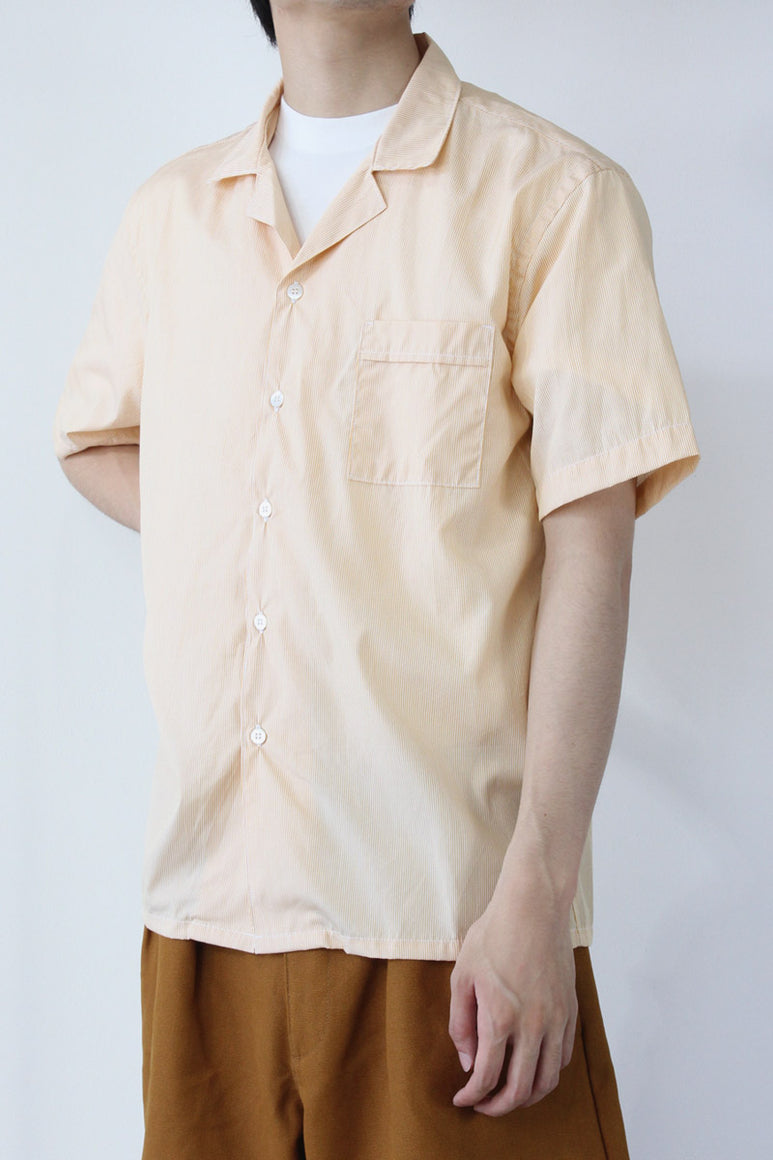 SS SHIRT TWO / YELLOW MICRO STRIPE